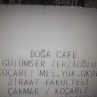 Photo taken at Doğa Cafe by Kadriye T. on 8/14/2013