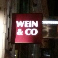 Photo taken at WEIN & CO Bar Stephansplatz by Michael J. on 2/1/2013