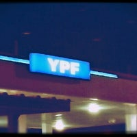 Photo taken at YPF - Cañada Rosquin by Santiago V. on 7/8/2013