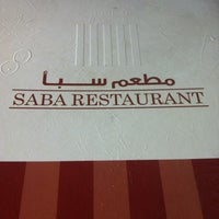 Photo taken at Saba Restaurant by Dyea on 2/2/2013