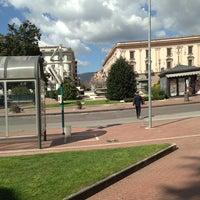 Photo taken at Piazza Libertà by Maxio75 on 4/6/2013
