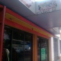 Photo taken at Aqui Es Oaxaca by Dr Oscar E. on 1/2/2013