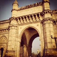 Photo taken at Gateway of India by Tim F. on 2/26/2013