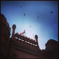 Photo taken at Red Fort (Lal Qila) by Tim F. on 3/2/2013