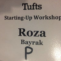 Photo taken at Anderson Hall, Tufts University by Roza on 4/4/2014