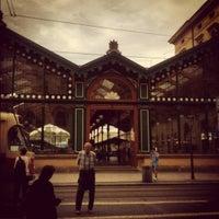 Photo taken at Prague Masaryk Railway Station by Harry on 10/28/2012