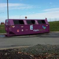 Photo taken at Ripple Glass Bin by Tyler R. on 11/1/2013