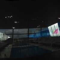 Photo taken at Better London Aquatics Centre by Kit F. on 4/18/2014