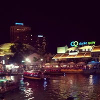 Photo taken at Clarke Quay by Adrian D. on 8/11/2013