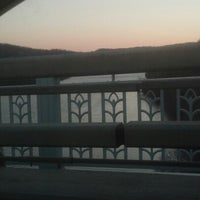 Photo taken at Homestead Grays Bridge by Candice G. on 11/28/2012