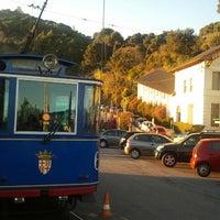 Photo taken at Tramvia Blau by Mariano Z. on 12/23/2012