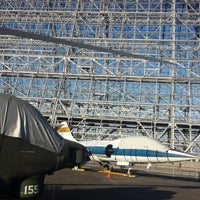 Photo taken at Hangar One (Building 1) by Jennifer T. on 8/21/2013