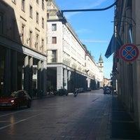 Photo taken at Via Roma by Katarina K. on 3/21/2013