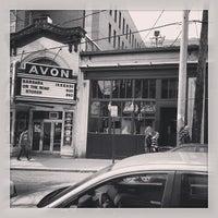 Photo taken at Avon Cinema by Alex K. on 3/31/2013
