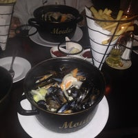 Photo taken at Brabant Belgian Brasserie by Salih Seckin S. on 10/5/2013