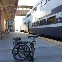 Photo taken at Metrolink San Bernardino Station by Zachary B. on 8/22/2017