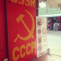Photo taken at USSR-СССР by Lucky Devil on 1/14/2014