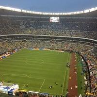 Photo taken at Estadio Azteca by Marian on 5/27/2013