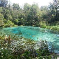 Photo taken at Ichetucknee Springs State Park - North Gate by Lolly W. on 9/8/2013