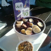 Photo taken at Oficina do Açaí by Bruno A. on 11/24/2012