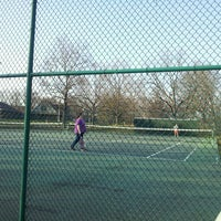 Photo taken at carlyle tennis court by James Q. on 4/5/2013