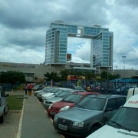Photo taken at Taguatinga Shopping by Rualler P. on 2/2/2013