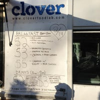Photo taken at Clover Food Truck by Sujoy Kumar C. on 2/15/2013