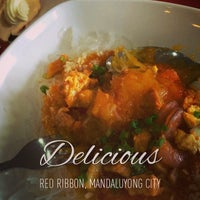 Photo taken at Red Ribbon by Dennis d. on 7/29/2014