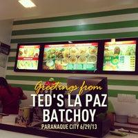 Photo taken at Ted's La Paz Batchoy by Dennis d. on 6/29/2013