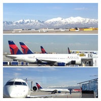 Photo taken at Salt Lake City International Airport (SLC) by Scott G. on 3/28/2013