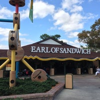 Photo taken at Earl of Sandwich by Tony T. on 3/3/2013