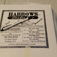 Photo taken at Harrows Chicken Pies by Jonathan C. on 11/7/2013