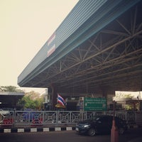 Photo taken at Thailand-Laos Friendship Bridge Immigration by Pinky on 2/21/2013