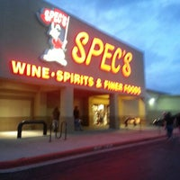 Photo taken at Spec's by James S. on 5/26/2013