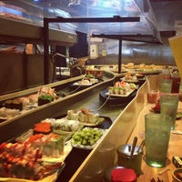 Photo taken at Fuji Sushi Boat & Buffet by Brendon C. on 9/29/2012