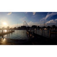 Photo taken at Cedar Point Marina by Brendon C. on 8/2/2013