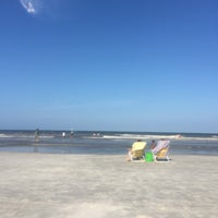 Photo taken at Jax Beach At South 15th Ave by Stephen H. on 7/4/2016