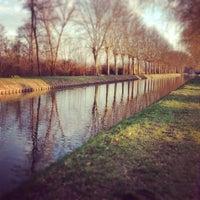 Photo taken at Canal du Rhône au Rhin by Davy H. on 4/7/2013