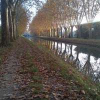 Photo taken at Canal du Rhône au Rhin by Davy H. on 10/21/2012