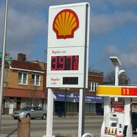 Photo taken at Shell by Javier C. on 3/29/2014