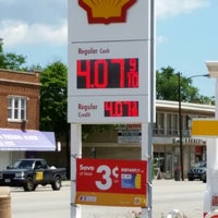Photo taken at Shell by Javier C. on 7/3/2014
