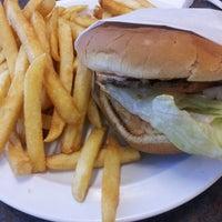 Photo taken at Jim's Burger by Joey M. on 1/24/2013