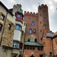 Photo taken at Burg Schwaneck by Collin C. on 9/5/2014