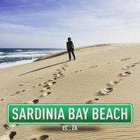 Photo taken at Sardinia Bay Beach by Claudio P. on 8/14/2015