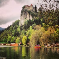 Photo taken at Bled by Valentina on 4/27/2013