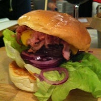 Photo taken at Ham Holy Burger by Claude M. on 10/25/2012