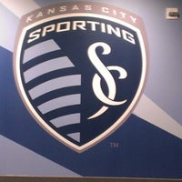 Photo taken at Boulevard Members Club at Sporting Park by Tony R. on 10/18/2012