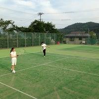 Photo taken at 大石テニスコート by Masato M. on 5/18/2013