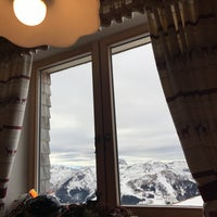 Photo taken at Westgipfelhütte by Mark K. on 12/26/2016