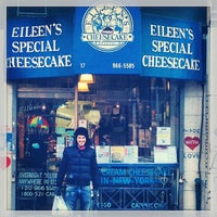 Photo taken at Eileen's Special Cheesecake by Steven on 1/22/2013